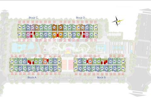 Him Lam Phú An - nhận nhà ở ngay - 70m2, 2 phòng ngủ, chỉ 1,9 tỷ, chiết khấu 8%, sổ hồng vĩnh viễn