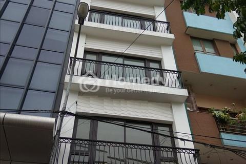 Cho thuê nhà trong ngõ Trung Kính, 70m2 x 6 tầng, thang máy