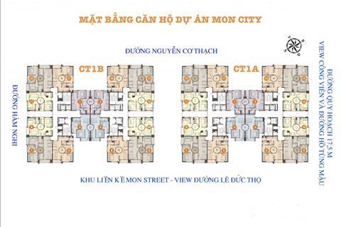 Chính chủ bán cắt lỗ căn hộ cao cấp Mon City, diện tích 86m2 giá 31 triệu/m2
