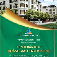 Mở bán khu đô thị cao cấp Hoàng Mai Center Point tại Hoàng Mai