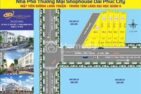 Hot, đất mặt tiền đường Long Thuận chính chủ, sổ hồng riêng