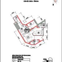 Bán căn hộ cao cấp 2 phòng ngủ 2 WC giá 937 triệu ngay Bưu điện Hà Đông
