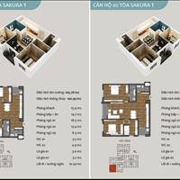 Thoải mái lại lựa chọn căn hộ 3 phòng ngủ tại Hồng Hà Eco City, giá chỉ từ 1,6 tỷ