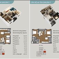 Sakura Hồng Hà EcoCity, giá 1,7 tỷ, full nội thất + chiết khấu cao 4%