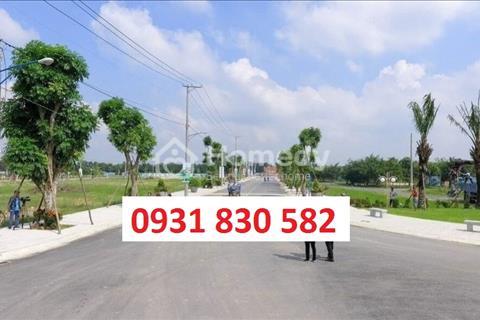 Đầu tư siêu lợi nhuận đất nền mặt tiền quốc lộ 50, trung tâm huyện Cần Đước Long An, 339 triệu/nền