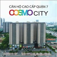 Mở bán đợt cuối căn hộ Cosmo City, giá gốc, chỉ cần thanh toán 40% nhận nhà, đã có sổ hồng từng căn
