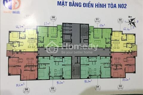 Bán gấp căn hộ 1407, N02, K35 Tân Mai, giá rẻ nhất dự án, 1,74 tỷ, vào tên trực tiếp