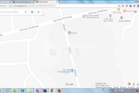 Bán nhà mặt tiền thương mại, 150m2, 1 trệt 3 lầu, VCN Phước Hải Nha Trang