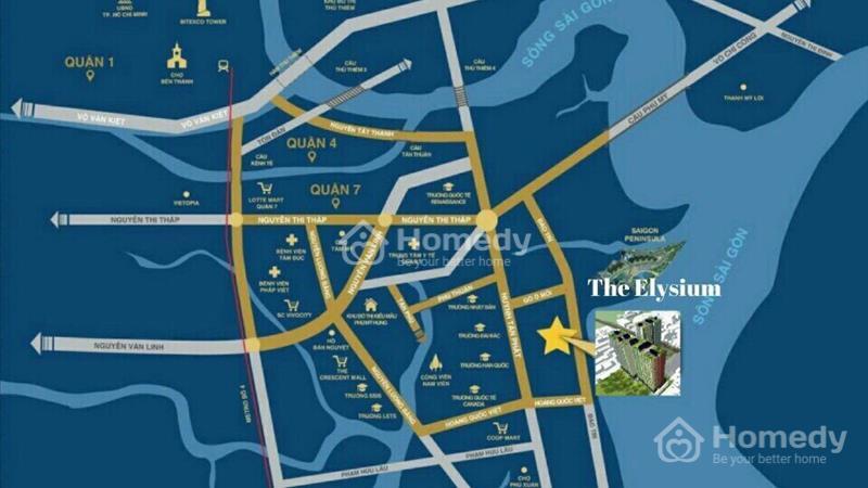 Chính thức nhận giữ chỗ căn hộ cao cấp Quận 7, 26 triệu/m2 nhận chiết khấu  7%