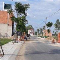 Đất nền quốc lộ 50 ngay sát bên công an huyện, đã có sổ hồng riêng, chỉ 480 triệu, 100m2