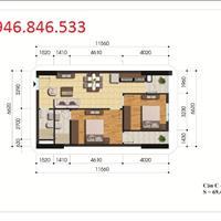 Chính chủ cần bán căn hộ 69,4m2 (2 phòng ngủ, 2WC) chung cư Gelexia 885 Tam Trinh