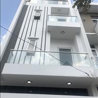 Nhà đẹp mới xây 1 trệt 2 lầu, sân thượng, sổ hồng riêng, đường Thạnh Xuân 25, đường xe hơi 8m