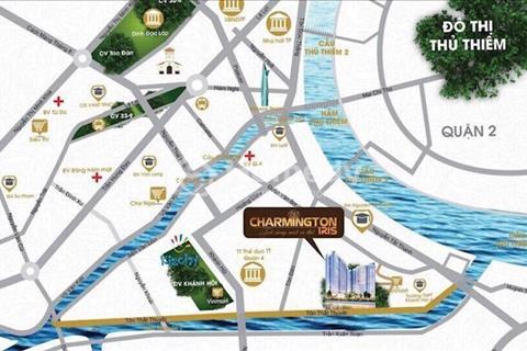 Tỏa sáng một vị thế - căn hộ cao cấp Charmington Iris - vị trí siêu đẹp 3 mặt sông Quận 4