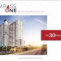 Nhận giữ chỗ căn hộ Compass One Chánh Nghĩa, thành phố Thủ Dầu Một, Bình Dương