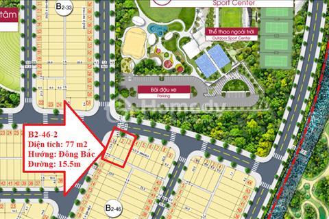 Cần tiền thanh lý  nhanh lô đất đẹp dự án HomeLand Central Park giá gốc chủ đầu tư