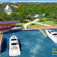 Đất biệt thự ven sông Vàm Cỏ, 8 triệu/m2, cơ hội đầu tư sinh lời
