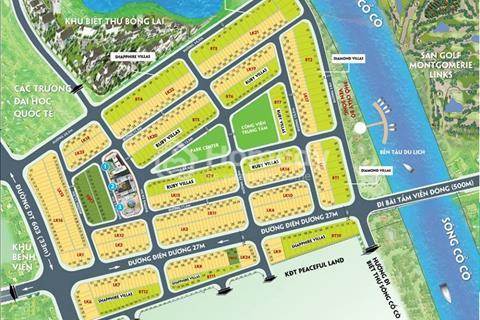 Cần bán lô đất khu đô thị Green City, sau lưng CocoBay, đối diện sông Cổ Cò, sát biệt thự Bồng Lai