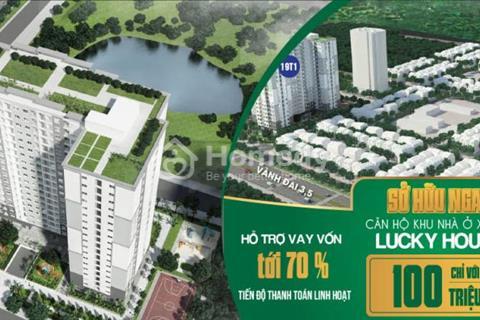Cơ hội sở hữu căn hộ cho những cặp vợ chồng trẻ những người thu nhập thấp với giá từ 13,65 triệu/m2