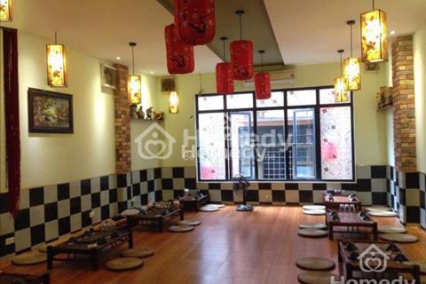 Bán nhà hàng mặt phố Nguyễn Ngọc Vũ, 1 mặt phố, 1 mặt ngõ ô tô, vỉa hè 5m, giá 14.7 tỷ