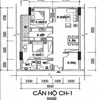 Bán gấp căn hộ 92m2, tòa B dự án IA20 Ciputra, giá siêu rẻ