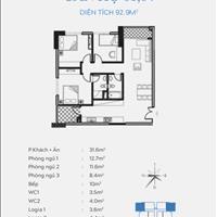 Hot bán cắt lỗ căn góc 2311, 3 phòng ngủ view hồ cực đẹp nhận nhà ở ngay