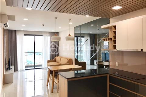 Cho thuê căn hộ River Gate 75m2, 2 phòng ngủ 1WC, full nội thất, free hồ bơi, gym giá 19 tr/tháng
