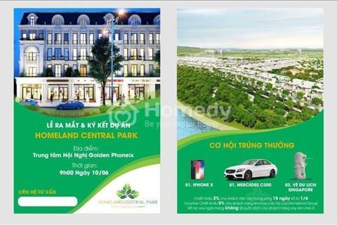 Xin chào các nhà đầu tư Homeland Central park