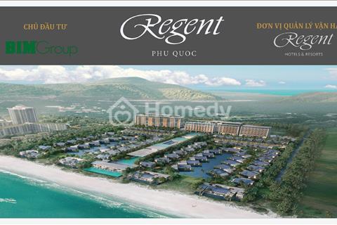 Bán đợt cuối 6 căn biệt thự biển Regent 6 sao thiết kế 1 phòng ngủ 1 hồ bơi, cam kết 40% doanh thu