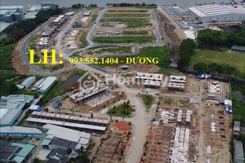 Biệt thự view sông Vàm Cỏ Đông, 8x17m giá 1,245 tỷ sổ hồng riêng bao sang tên