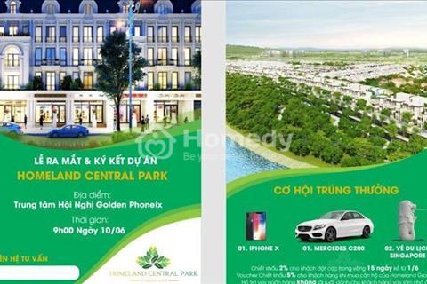 Đất vàng vị trí kim cương sinh Đà Nẵng - Homeland Central Park - đầu tư sinh lời cao, ưu đãi khủng