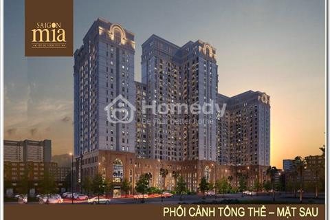 Bán gấp căn hộ Officetel nằm trên tầng 3 dự án Saigon Mia