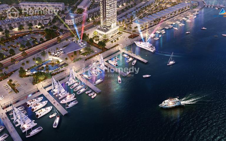 Nhà phố thương mại Marina Complex - khu nghỉ dưỡng cao cấp bên sông Hàn trung tâm Đà Nẵng