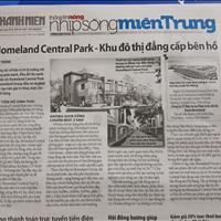 Báo chí nói gì về dự án HomeLand Central Park - nhà đầu tư nên đọc kỹ