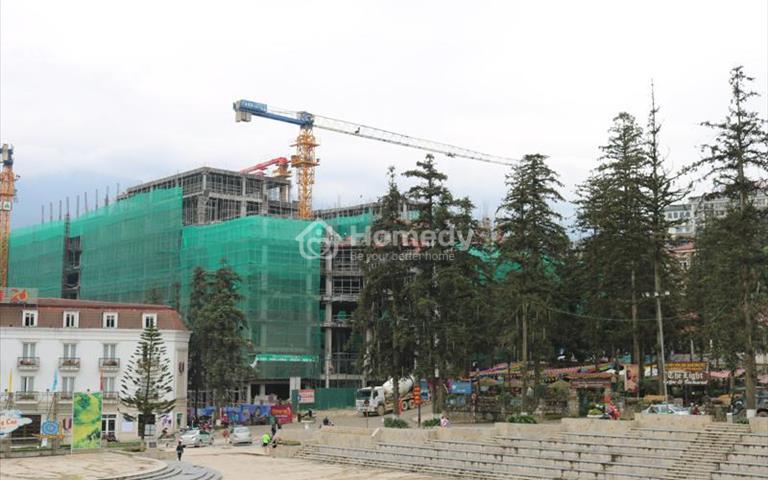 Cho thuê lại khách sạn đã xây thô để kinh doanh ở trung tâm Lào Cai