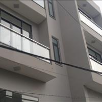 Nhà Quận 12 thiết kế hiện đại 1 trệt 2 lầu 1 sân thượng - sân ô tô 4m