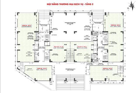 Mở bán mặt bằng tầng thương mại tại chung cư Tecco Phủ Liễn