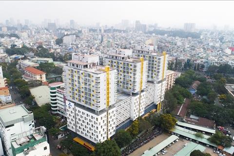Căn hộ Officetel – mặt tiền Cao Thắng - 1,3 tỷ/căn – 2,1 tỷ/căn, 1 phòng ngủ, đang bàn giao