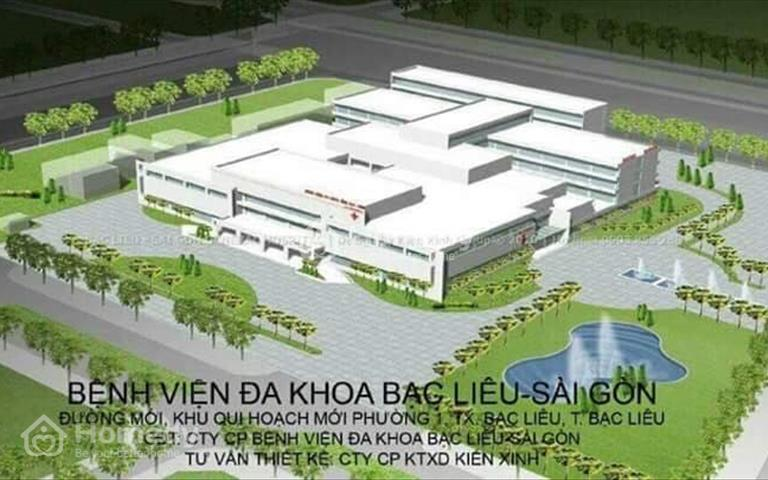 Đất nền giá rẻ khu dân cư Hoàng Phát trung tâm thành phố Bạc Liêu