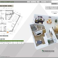Bán chung cư Xuân Mai Complex mặt đường Tố Hữu, 2 phòng ngủ, 830 triệu, hỗ trợ vay 0%