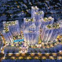 Cần bán gấp căn hộ 2 phòng ngủ tòa Jasmine 2 Hà Đô Centrosa thoáng mát, view hồ bơi