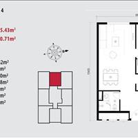 Bán căn hộ trung tâm Duy Tân - Cầu Giấy giá từ 32 triệu/m2 tặng ngay gói nội thất trị giá 500 triệu
