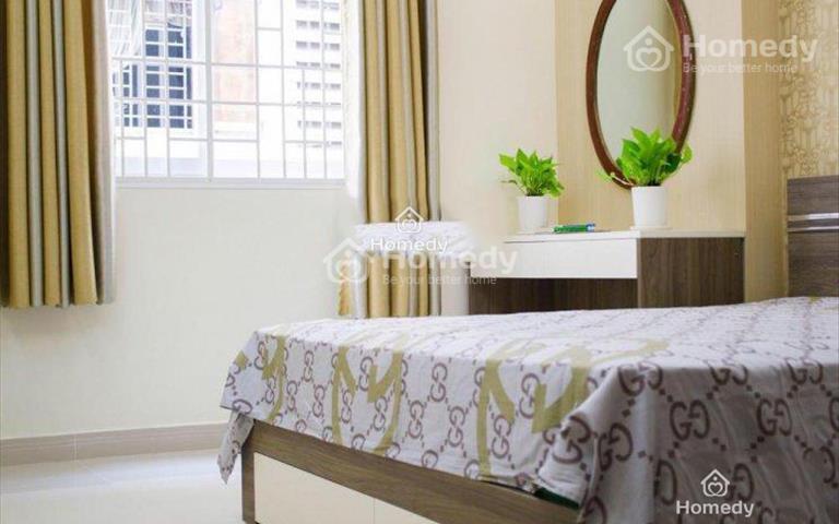 Cho thuê căn hộ cao cấp ngay chợ Dân Sinh mới 100%, đầy đủ nội thất