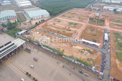 Bán gấp lô đất 60m2, sổ hồng riêng, giá 349 triệu, bao sang tên + giấy phép xây dựng