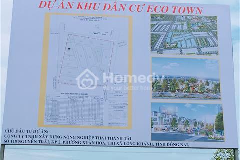 Mở bán dự án Eco Town Long Thành ngay trung tâm thị trấn Long Thành, 600 triệu/nền, hỗ trợ vay 50%