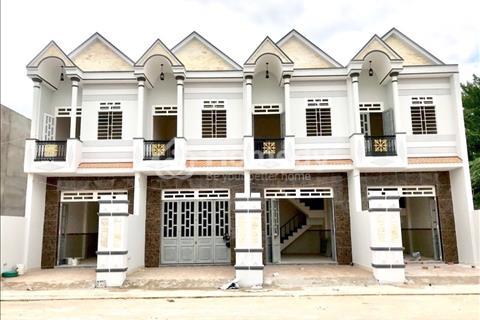 Bán nhà 1 trệt 1 lầu, 140m2, giao nhà hoàn thiện, full nội thất, sổ hồng riềng, giá chỉ 1,1 tỷ/căn
