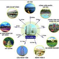 Tôi có suất ngoại giao chung cư CT36 Xuân La, 72m2, giá 21.6 triệu/m2
