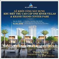 Khởi công 30 căn biệt thự One River phong cách resort châu Âu tại Đà Nẵng