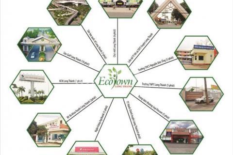 Còn 1 lô duy nhất đất nền Eco Town Long Thành, giá 10 triệu/m2