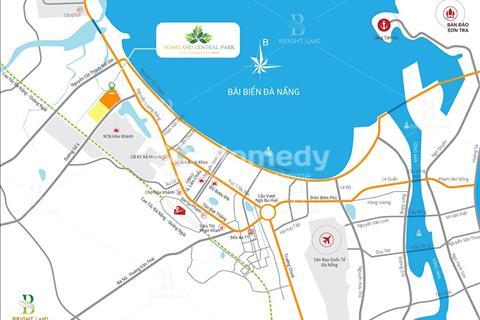 Nhận đặt chỗ block view công viên dự án Homeland Central Park - Dự án thu hút nhất Đà Nẵng