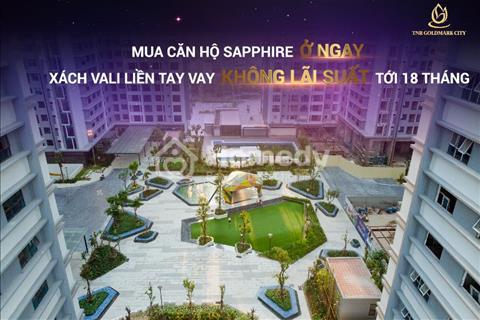 Ra bảng hàng mới nhất, tầng đẹp, căn đẹp dự án Goldmark City, ở luôn, giá chỉ 24,1 triệu/m2